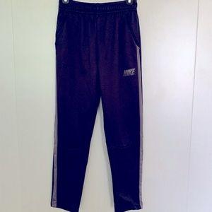 Nike DRYFIT Boys black and grey Athletic Pant